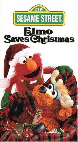 Elmo Saves Christmas Amazoncom Elmo Saves Christmas VHS Charles Durning Harvey