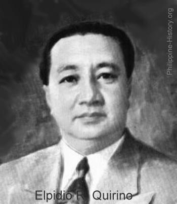 Elpidio Quirino List of Philippine Presidents and VicePresidents