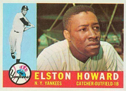 Elston Howard 1960 Topps Elston Howard 65 Baseball Card Value Price Guide