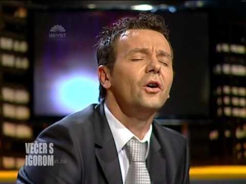 Elvir Baljić ELVIR BALJI PJEVA VEER S IGOROM 30102013 YouTube