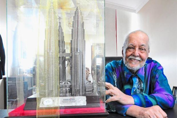 Elyas Omar 80yearold former KL mayor dreams of building township for the