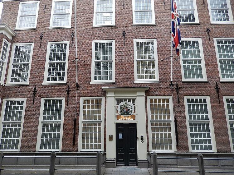 Embassy of the United Kingdom, The Hague