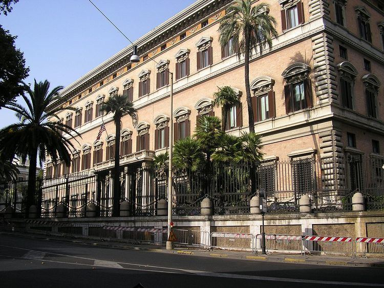 Embassy of the United States, Rome