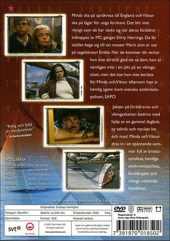 Emblas hemlighet Emblas hemlighet DVD Discshopse