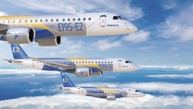 Embraer E-Jet E2 family Embraer to Roll Out NextGen EJet Next Week Singapore Airshow