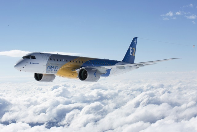 Embraer E-Jet E2 family PICTURES Embraer completes first flight of EJet E2
