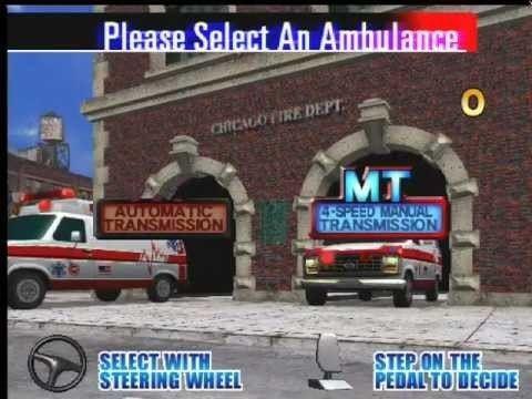 Emergency Call Ambulance Emergency Call Ambulance SEGA 1999 Gameplay EGA YouTube