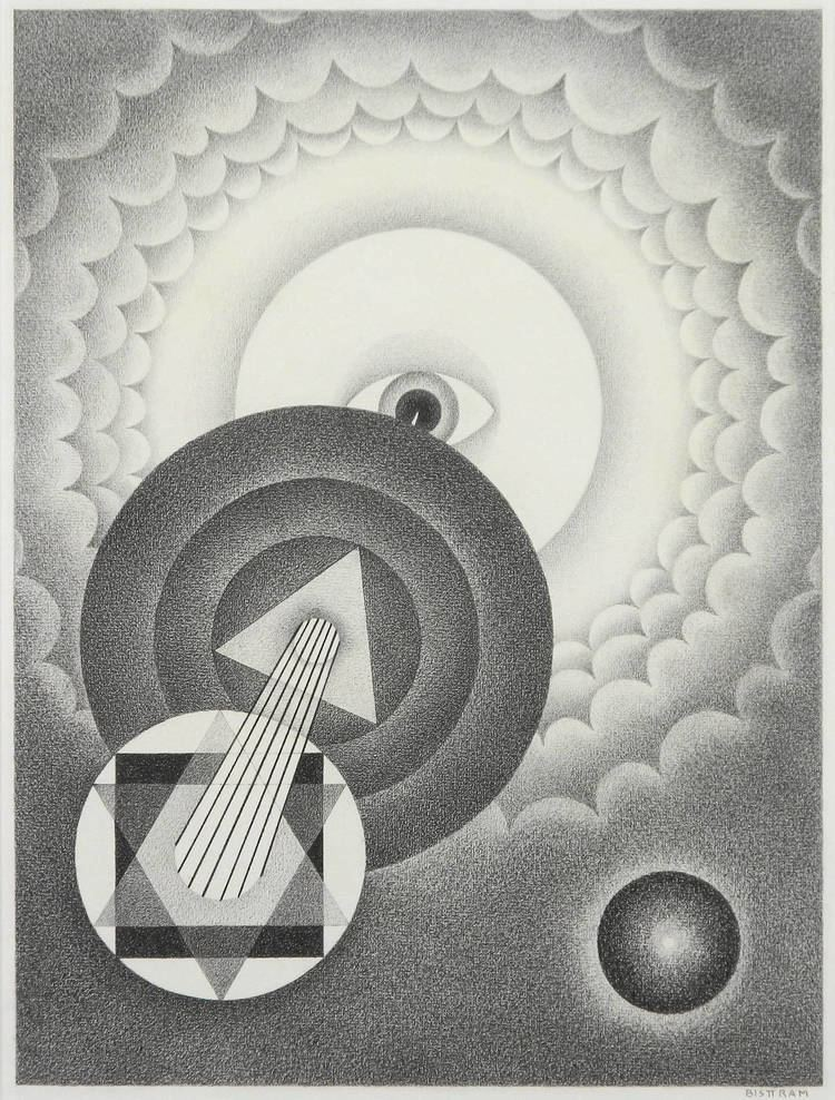 Emil Bisttram Emil Bisttram Fine Art 12 For Sale at 1stdibs