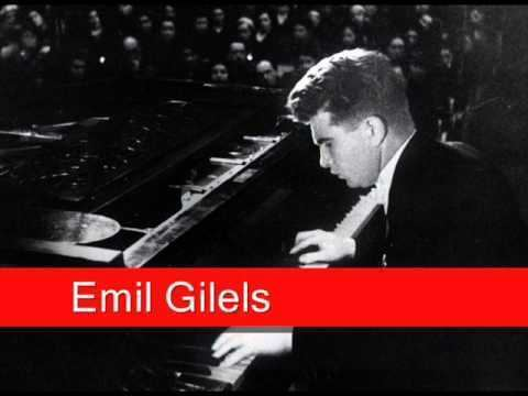Emil Gilels Emil Gilels Beethoven Piano Concerto No 4 in G Rondo Vivace
