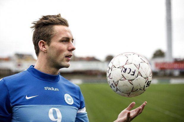 Emil Nielsen The hottest striker in European football FK Roskilde39s