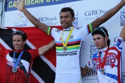 Emile Abraham Cyclist Emile Abraham wins silver in Curacao Trinidad