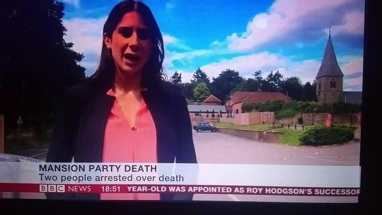 Emilia Papadopoulos BBC News Reporter Emilia Papadopoulos Hawks Up Live on Air YouTube