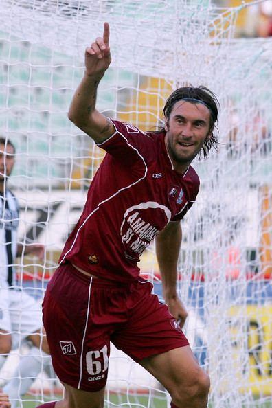 Emiliano Bonazzoli Emiliano Bonazzoli Pictures AC Siena v Reggina Calcio
