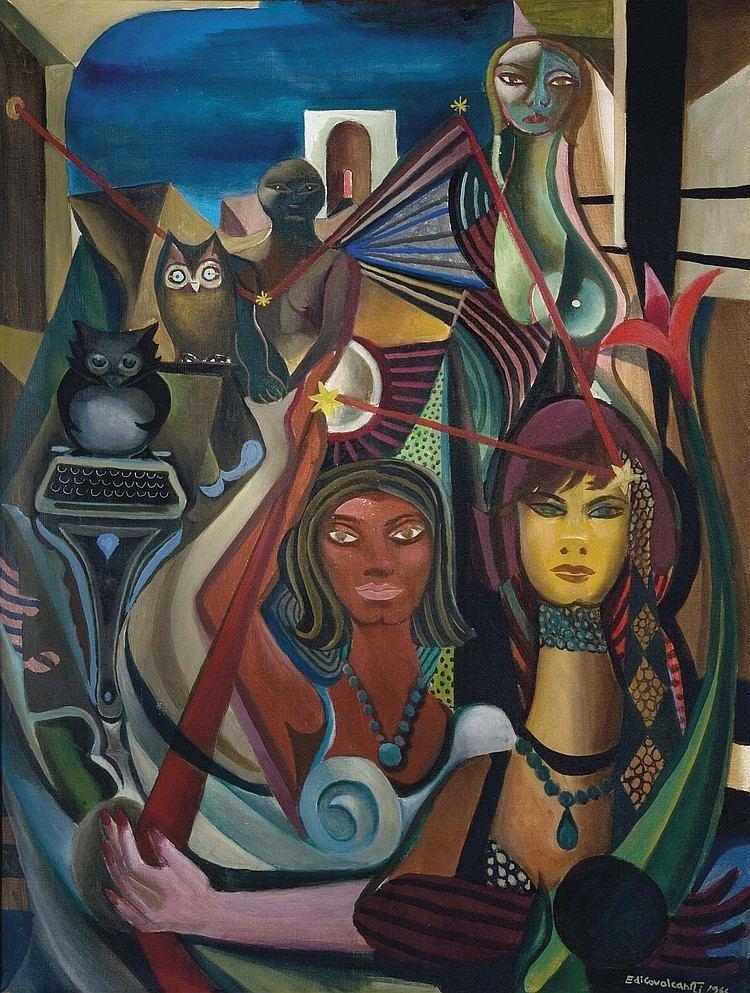 Emiliano Di Cavalcanti Emiliano quotdiquot Cavalcanti Works on Sale at Auction
