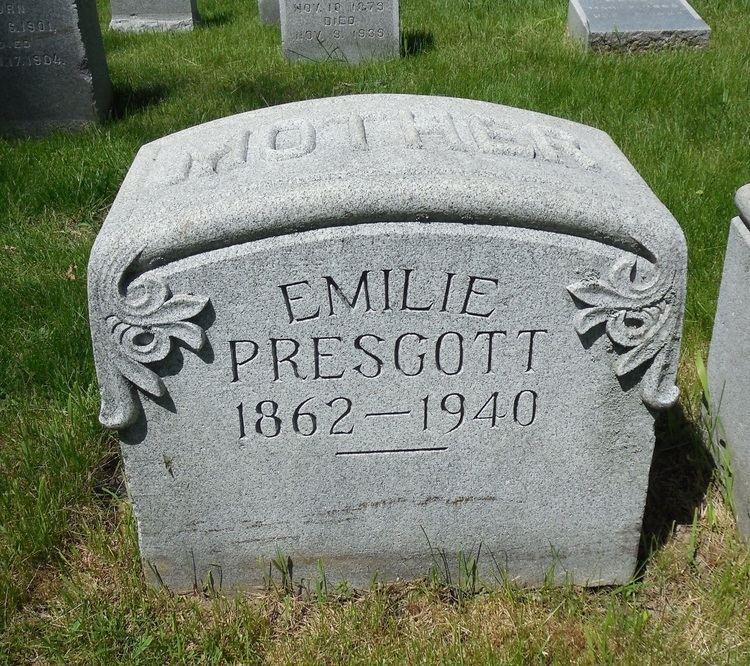 Emilie Timm Emilie Timm Prescott 1862 1940 Find A Grave Memorial