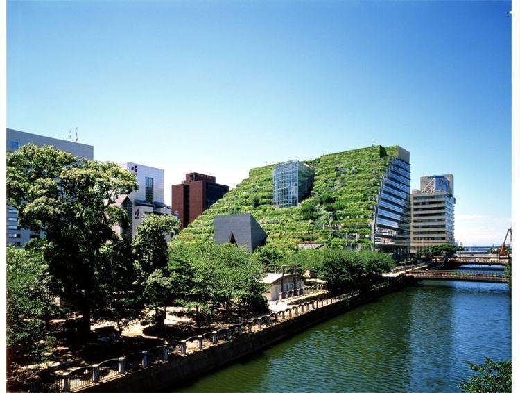 Emilio Ambasz Greenroofscom Projects ACROS Fukuoka Prefectural