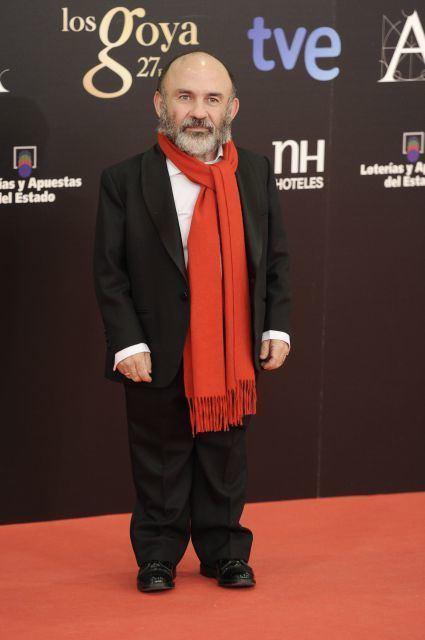 Emilio Gavira Alfombra Roja de los Premios Goya 2013 Emilio Gavira Ques