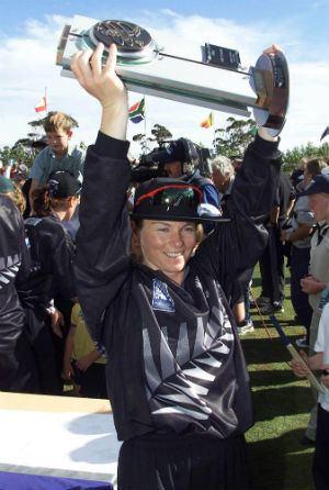 Emily Drumm Emily Drumm New Zealands first World Cupwinning captain Cricket