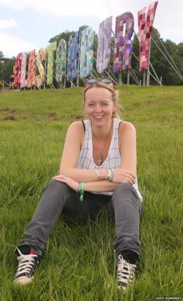Emily Eavis Glastonbury organiser Emily Eavis becomes tourism