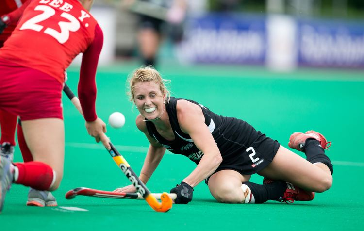Emily Naylor Dynamic duo parted for Black Sticks world final FIH
