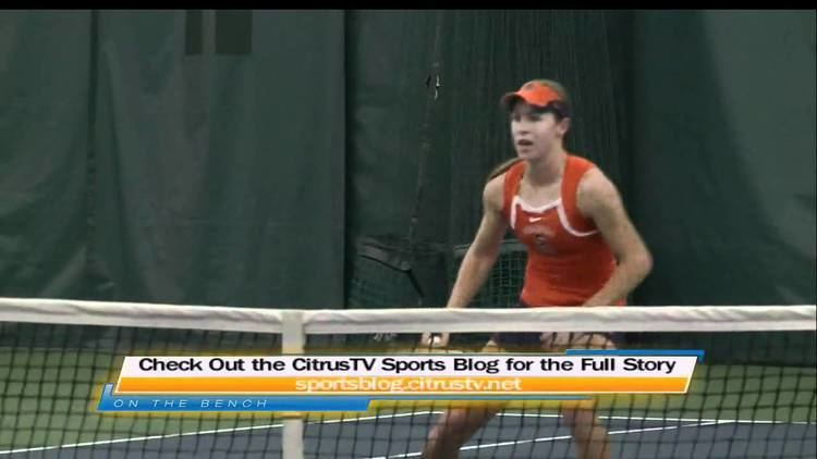 Emily Harman Emily Harman Not Your Typical College Tennis Player CitrusTV