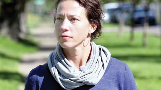 Emily Larson Duluth mayoral candidate Emily Larson says conflict taught her to be