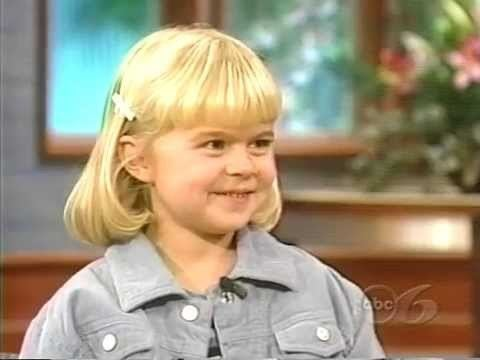 Emily Mae Young Emily Mae Young interview 1998 Age 8 YouTube