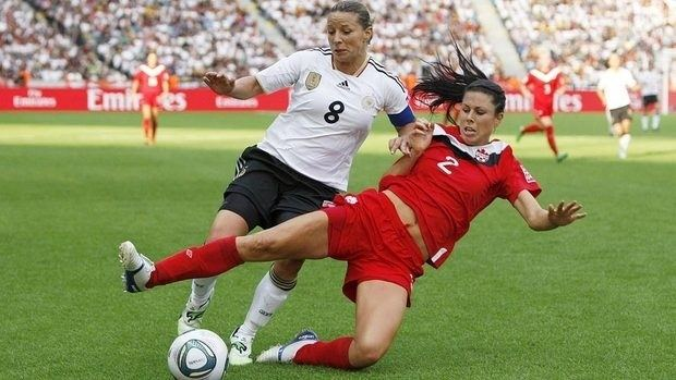 Emily Zurrer Canadian fullback Zurrer motivated by Olympic cut CBC Sports Soccer