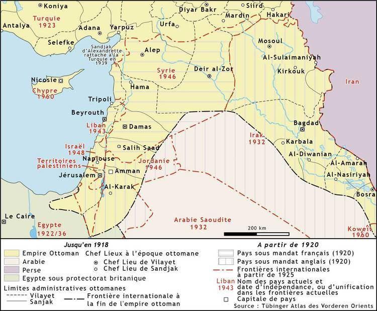 Emirate of Transjordan Atlas of Jordan The Hashemites and the Creation of Transjordan