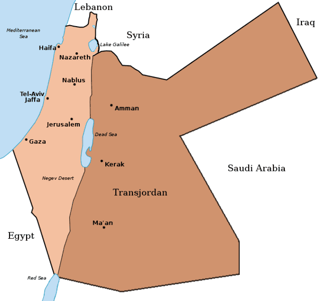 Emirate of Transjordan Middle East Archives martinsidwellcommartinsidwellcom