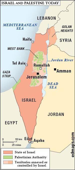 Emirate of Transjordan Palestinian Conflict in Ten Maps