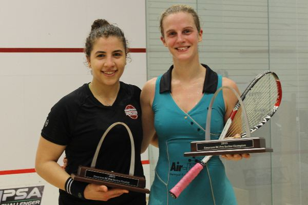 Emma Beddoes Squash Mad Emma Beddoes soars to St Louis success