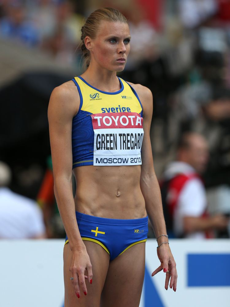 Emma Green (athlete) End Of The Rainbow Swedish Athlete Repaints Nails Red NPR Berlin