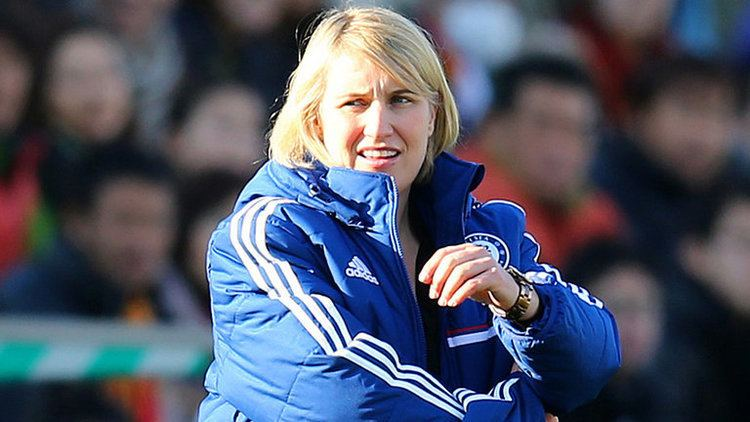 Emma Hayes Chelsea Ladies boss Emma Hayes calls for female equivalent