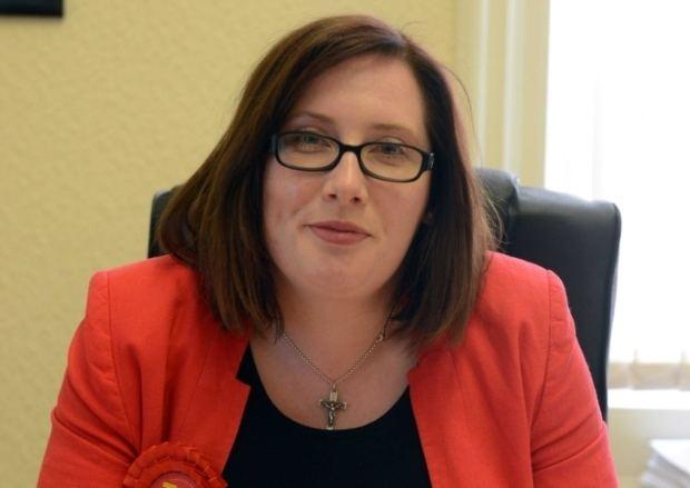 Emma Lewell-Buck South Shields MP Emma LewellBuck backs Andy Burnham for