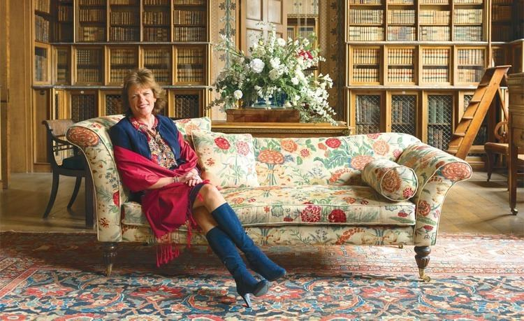 Emma Manners, Duchess of Rutland Inside Belvoir Castle Period Living