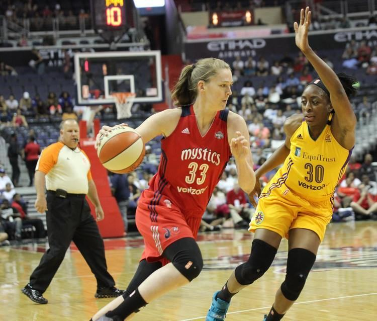 Emma Meesseman Emma Meesseman talks about Russia vs the WNBA Tim Duncan and her