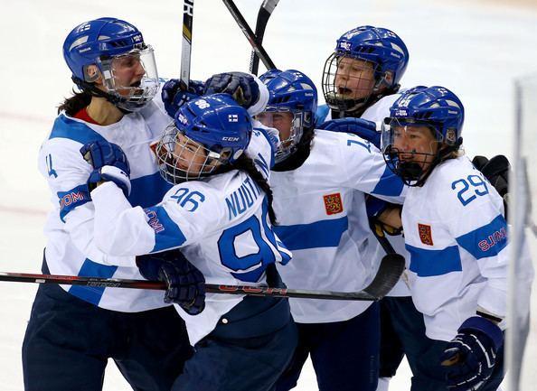 Emma Nuutinen Emma Nuutinen Pictures Ice Hockey Winter Olympics Day