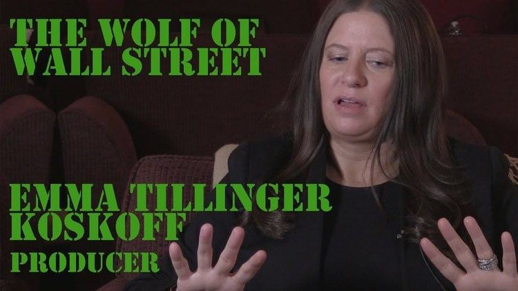 Emma Tillinger Koskoff DP30 The Producer of The Wolf of Wall Street Emma