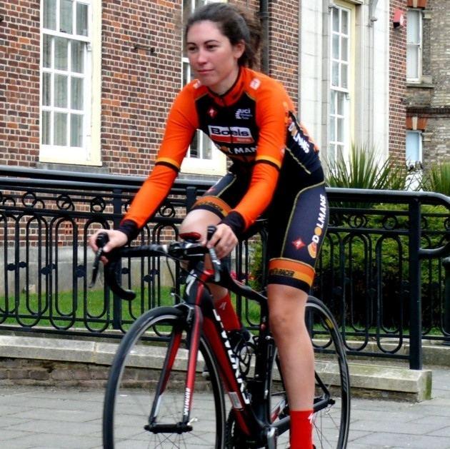 Emma Trott EssexSuffolk Top cyclist Emma Trott has sights set on