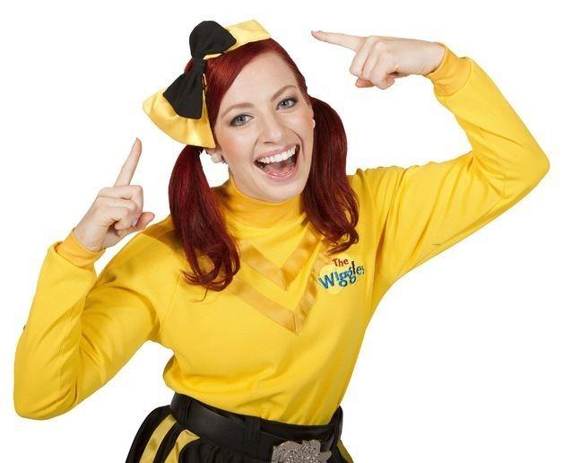 Emma Watkins Emma Watkins39 career as the Yellow Wiggle takes off