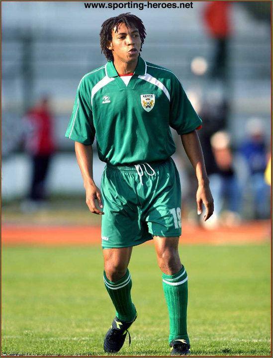Emmanuel Ake Emmanuel Ake African Cup of Nations 2004 Kenya