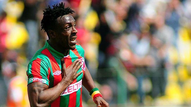 Emmanuel Banahene Emmanuel Banahene Ismaily striker has not given up hopes