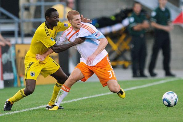 Emmanuel Ekpo Emmanuel Ekpo Pictures Houston Dynamo v Columbus Crew