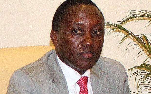 Emmanuel Karenzi Karake Protests outside British High Commission in Kigali as