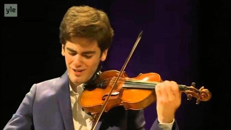 Emmanuel Tjeknavorian Emmanuel Tjeknavorian Sibelius Novellette 2015 Sibelius
