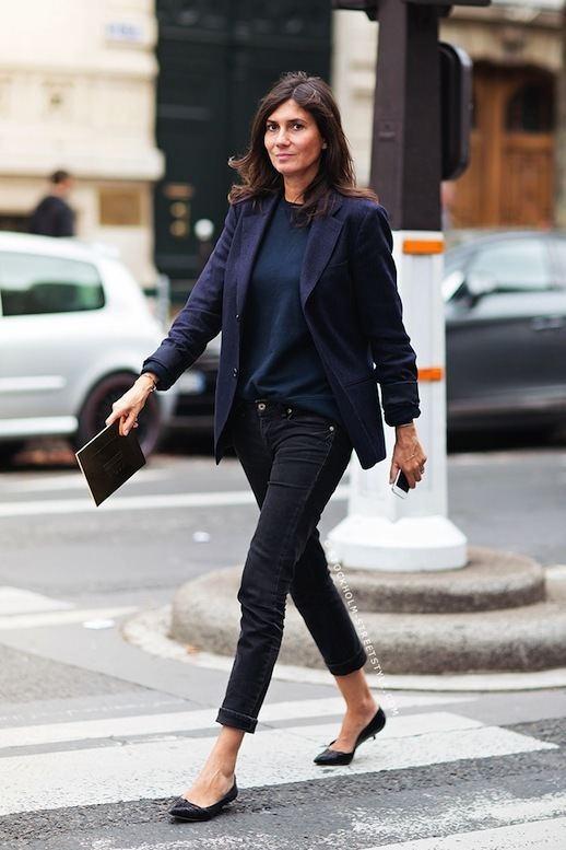 Emmanuelle Alt Le Fashion 11 WAYS TO WEAR KITTEN HEELS EMMANUELLE ALT