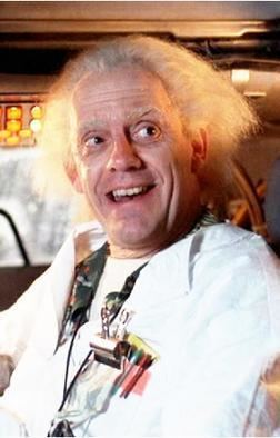 Emmett Brown httpsuploadwikimediaorgwikipediaen997Doc