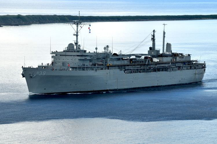Emory S. Land MSC Ship Inventory Submarine Tenders