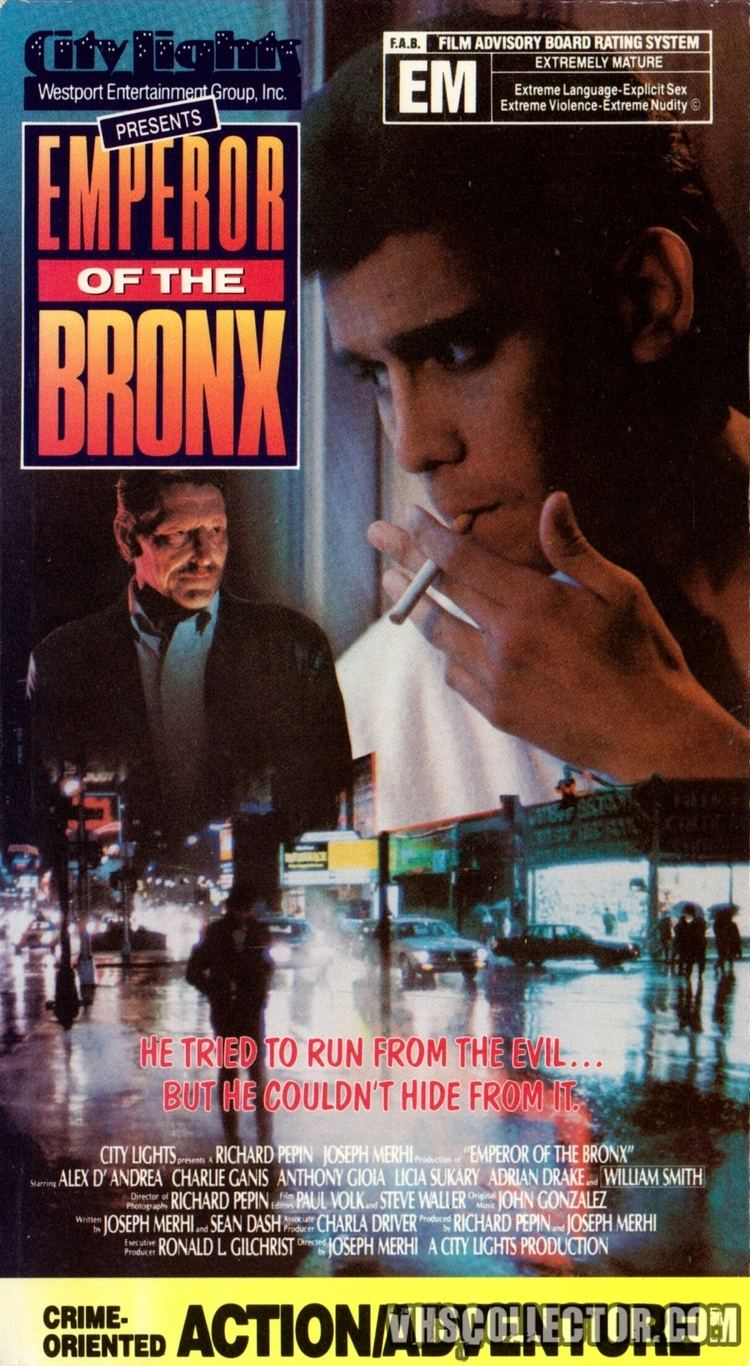 Emperor of the Bronx Emperor of the Bronx VHSCollectorcom Your Analog Videotape Archive